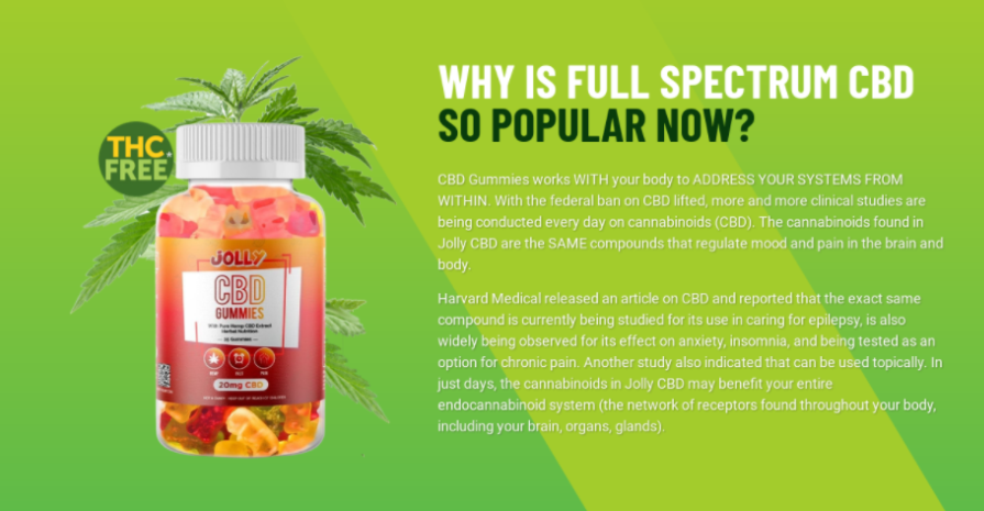 Jolly CBD Gummies