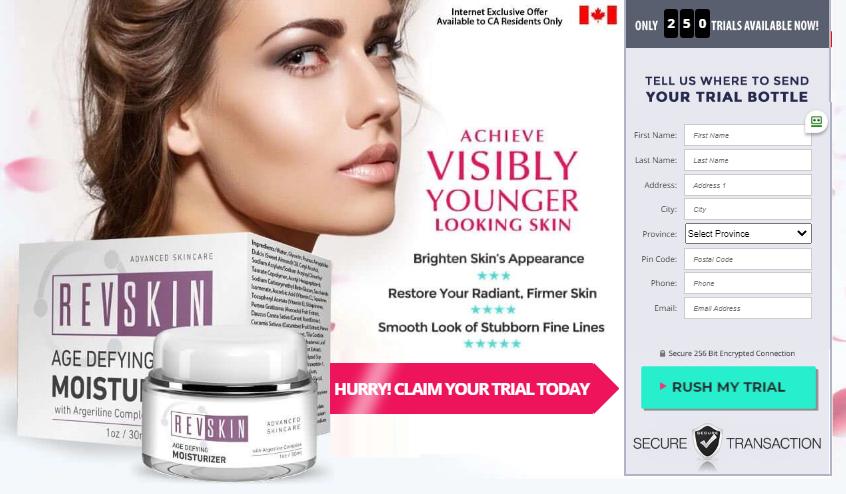 RevSkin moisturizer Canada