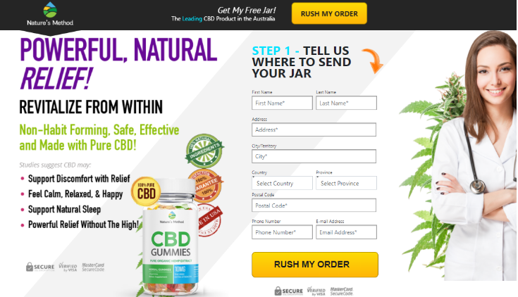 Natures Method CBD Gummies