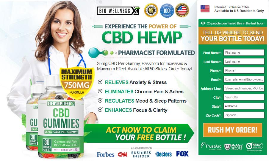 Bio Wellness CBD Gummies