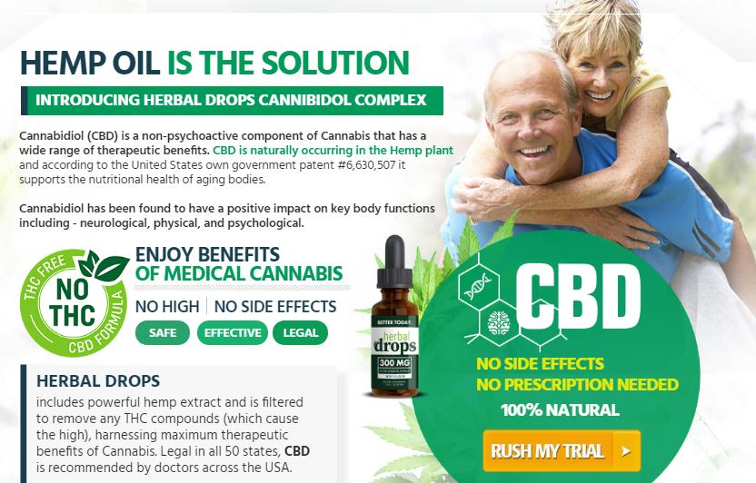 Herbal Drops CBD