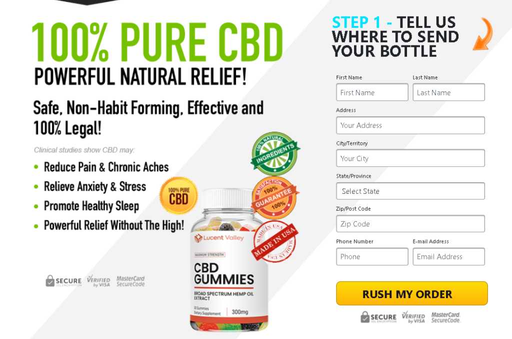 Ulixy CBD Gummies