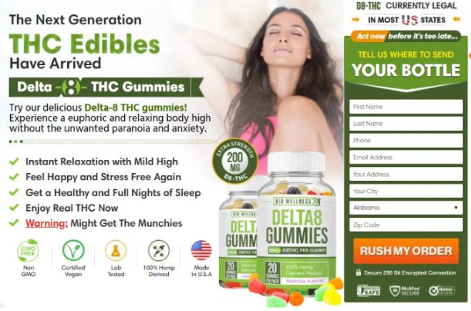 Exhale Wellness Delta 8 Gummies
